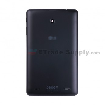 For LG G Pad 8.0 V480 Battery Door Replacement - Black - With Logo - Grade S+ (0)