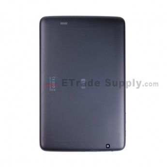 For LG G Tablet 10.1 V700 Battery Door Replacement - Black - With Logo - Grade S+ (1)