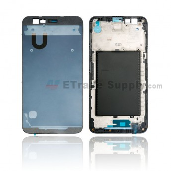 For LG K10 (2017) Front Housing Replacement - Black - Grade S+ (0)