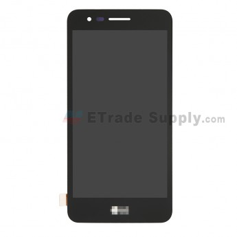 For LG K4 (2017) LCD Screen and Digitizer Assembly Replacement - Black - With Logo - Grade S+ (0)