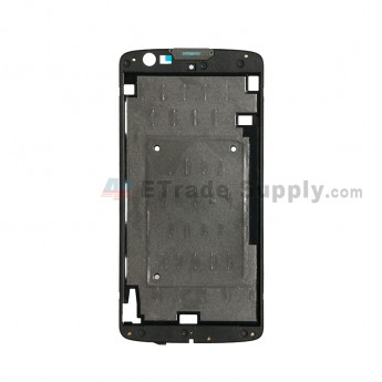 For LG K7 MS330/LS675 Front Housing Replacement - Black - Grade S+ (0)