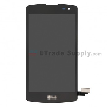 For LG L Fino D290N LCD Screen and Digitizer Assembly Replacement - Black - LG Logo - Grade S+ (0)
