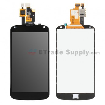 For LG Nexus 4 E960 LCD Screen and Digitizer Assembly Replacement - Black - Without Carrier Logo - Grade S (3)