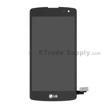For LG Optimus F60 LCD Screen and Digitizer Assembly Replacement - Black - With LG Logo - Grade S+ (0)