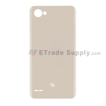 For LG Q6 Battery Door Replacement - Gold - With Q6 Logo - Grade S+ (7)