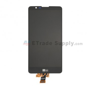 For LG Stylo 2 LS775 LCD Screen and Digitizer Assembly Replacement - Black - With LG Logo - Grade S+ (0)