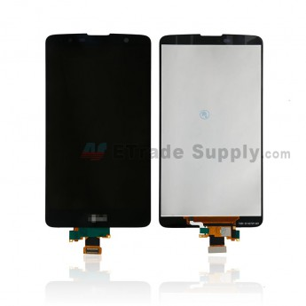 For LG Stylo 2 Plus K557 LCD Screen and Digitizer Assembly Replacement - Black - With Logo - Grade S+ (0)