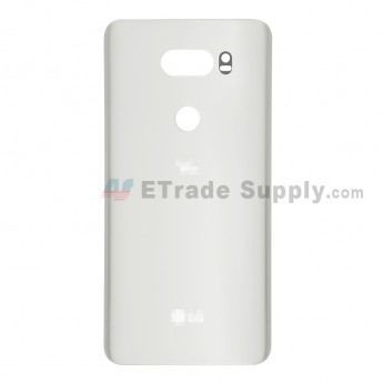 For LG V30 Battery Door Replacement - Silver - Grade S+ (0)