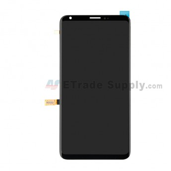 For LG V30 LCD Screen and Digitizer Assembly Replacement - Black - Without Logo - Grade S+ (0)