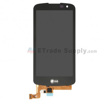 For LG VS425PP LCD Screen and Digitizer Assembly Replacement (Double Hole Version) - Black - Grade S+ (0)