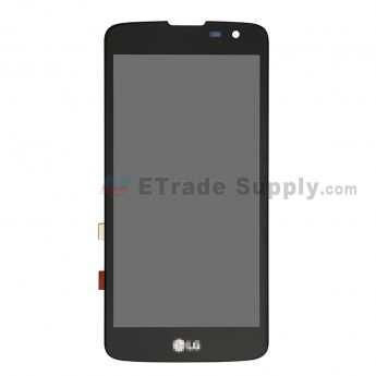 For LG X210 LCD Screen and Digitizer Assembly Replacement - Black - With Logo - Grade S+ (0)