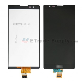 For LG X Power K210 LCD Screen and Digitizer Assembly Replacement - Black - LG Logo - Grade S+ (0)