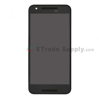 For LS Nexus 5X LCD Digitizer Assembly with Front Housing Replacement (European Version, Without Small Parts) - Black - Without Any Logo - Grade S+ (7)