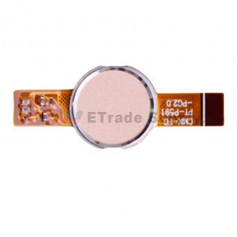 For Leagoo KIICAA Power P591 Fingerprint Reader Replacement - Gold - Grade S+ (0)