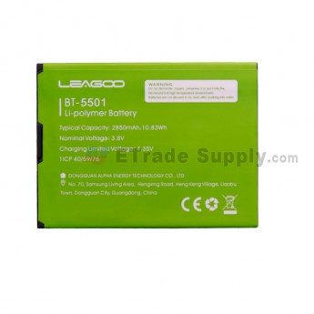 For Leagoo M9 L5501 Battery Replacement - Grade S+ (0)