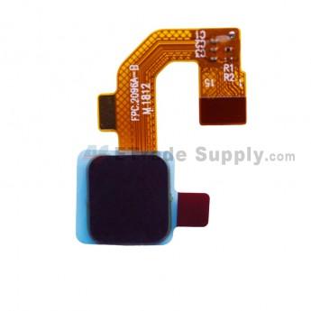 For Leagoo M9 L5501 Fingerprint Reader with Flex Cable Replacement - Black - Grade S+ (0)