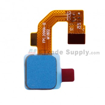 For Leagoo M9 L5501 Fingerprint Reader with Flex Cable Replacement - Blue - Grade S+ (0)