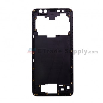 For Leagoo M9 L5501 Front Housing Replacement - Black - Grade S+ (0)