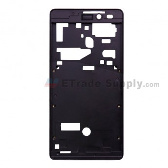 For Leagoo Z6 D5001 Front Housing Replacement - Black - Grade S+ (0)