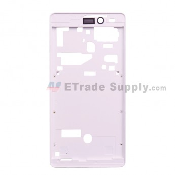 For Leagoo Z6 D5001 Front Housing Replacement - White - Grade S+ (0)