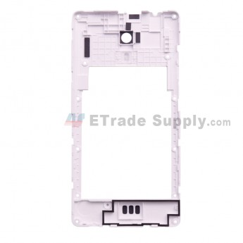 For Leagoo Z6 D5001 Rear Housing Replacement - White - Grade S+ (0)