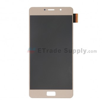 For Lenovo P2 (P2a42) LCD Screen and Digitizer Assembly Replacement - Gold - Without Logo - Grade S+ (0)