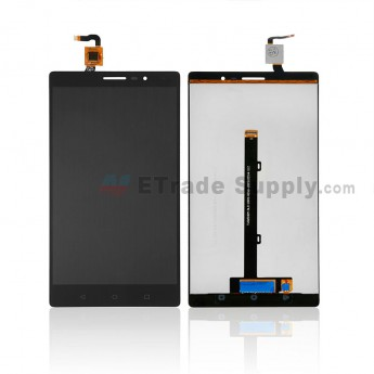 For Lenovo Phab2 PB2-650M LCD Screen and Digitizer Assembly Replacement - Black - Without Logo - Grade S+ (0)