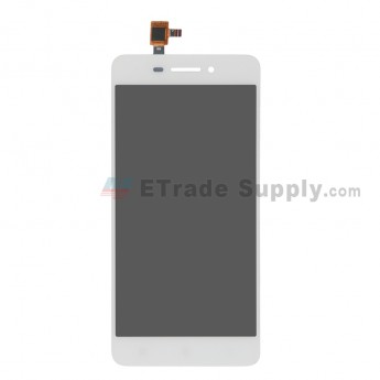 For Lenovo S60 LCD Screen and Digitizer Assembly Replacement - White - Without Logo - Grade R (0)