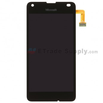 For MF Lumia 550 LCD Screen and Digitizer Assembly Replacement - Black - MF Logo - Grade S+ (0)