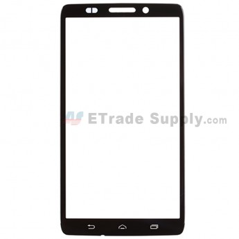 For MT Droid Ultra XT1080 Glass Lens Replacement - Black - Without Logo - Grade R (0)