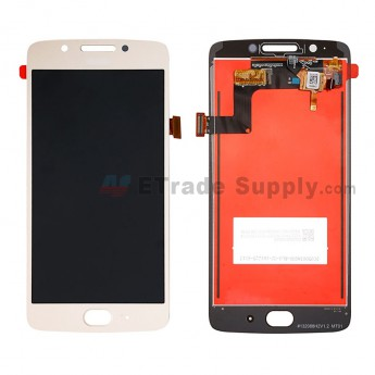 For MT G5 Plus LCD Screen and Digitizer Assembly Replacement - Gold - With Logo - Grade S+ (0)