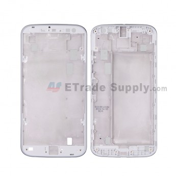 For MT Moto G4 Front Housing Replacement - White - Grade S+ (0)