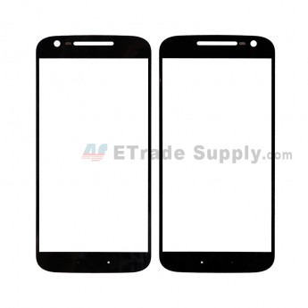 For MT Moto G4 Glass Lens Replacement - Black - Without Any Logo - Grade R (1)
