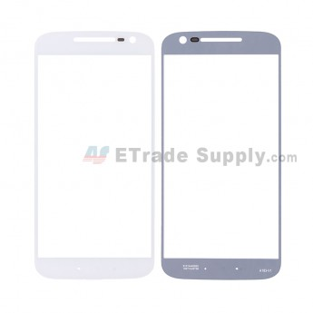 For MT Moto G4 Glass Lens Replacement - White - Without Any Logo - Grade R (5)
