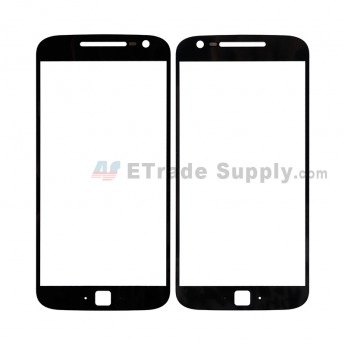 For MT Moto G4 Plus Glass Lens Replacement - Black - Without Any Logo - Grade R (0)