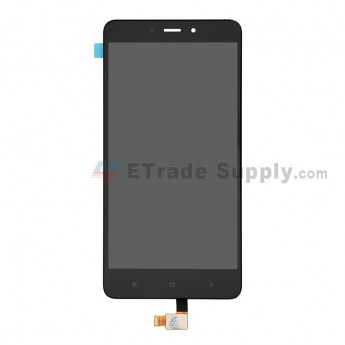 For MU Redmi Note 4 LCD Screen and Digitizer Assembly Replacement - Black - Grade S+ (0)