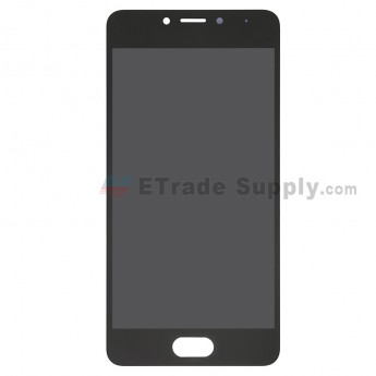 For Meizu M5c M710H LCD Screen and Digitizer Assembly Replacement - Black - Without Logo - Grade S+ (0)
