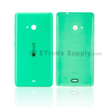 For Microsoft Lumia 535 Battery Door Replacement - Green - With Logo - Grade S+ (0)