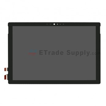 For Microsoft Surface New Pro/Pro 5 1796 LCD Screen and Digitizer Assembly Replacement - Black - With Logo - Grade S+ (0)