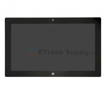 For Microsoft Surface Pro 2 LCD Screen and Digitizer Assembly Replacement - Black - With Windows 8 Logo Only - Grade S+ (0)