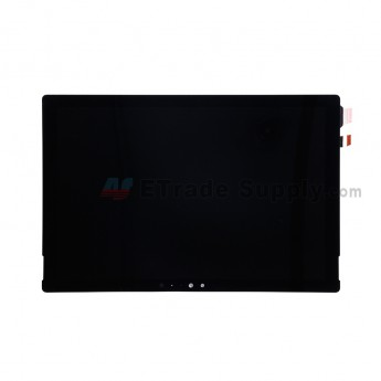 For Microsoft Surface Pro 4 LCD Screen and Digitizer Assembly Replacement - Black - Without Logo - Grade S+ (0)