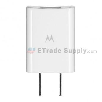 For Motorola Adapter Replacement - White - Motorola Logo - Grade S+ (1)