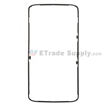 For Motorola Droid Turbo 2 XT1585 Front Housing Replacement - Black - Grade S+ (0)