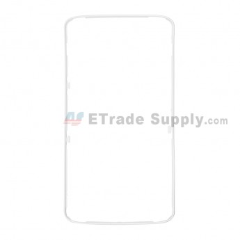 For Motorola Droid Turbo 2 XT1585 Middle Frame Replacement - White - Grade S+ (0)