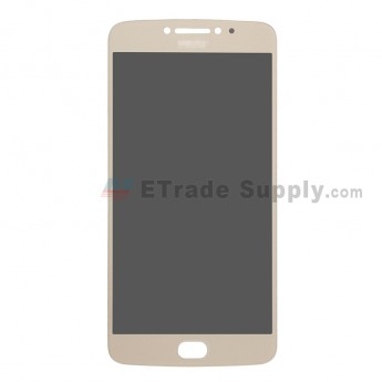 For Motorola Moto E4 Plus LCD Screen and Digitizer Assembly Replacement - Gold - Grade S+ (0)