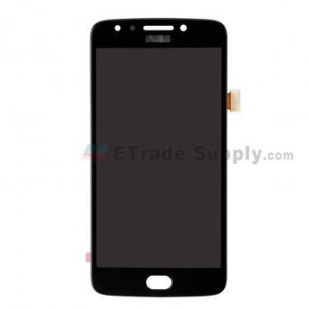 For Motorola Moto E4 XT1768 LCD Screen and Digitizer Assembly Replacement - Black - With Moto Logo - Grade S+ (0)
