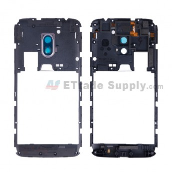 For Motorola Moto G4 Middle Plate Replacement - Black - Grade S+ (2)