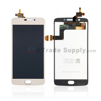 For Motorola Moto G5 LCD Screen and Digitizer Assembly Replacement - Gold - With Logo - Grade S+ (0)