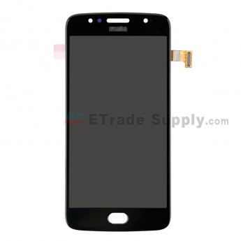 For Motorola Moto G5s LCD Screen and Digitizer Assembly Replacement - Gray - Grade S+ (0)