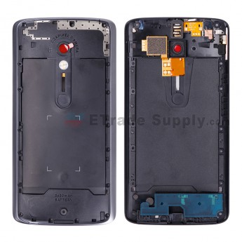 For Motorola Moto X Play XT1562 Middle Plate Replacement - Black - Grade S+ (0)